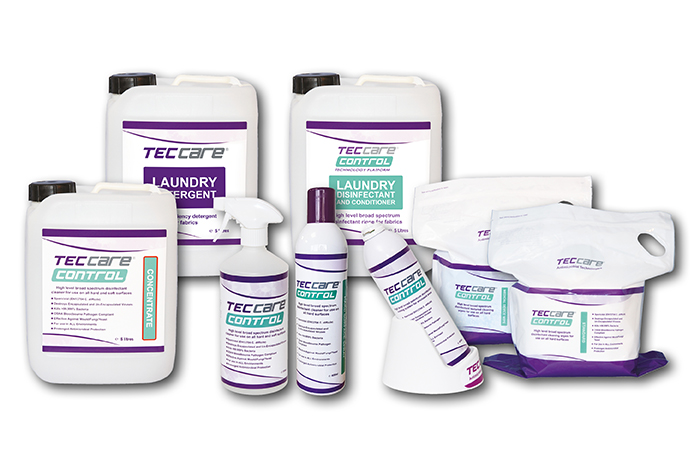 TECcare CONTROL products