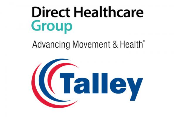 Talley and Direct Healthcare Group logos