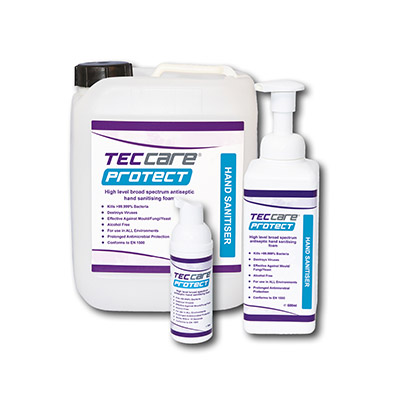 TECcare Protect Range of sizes
